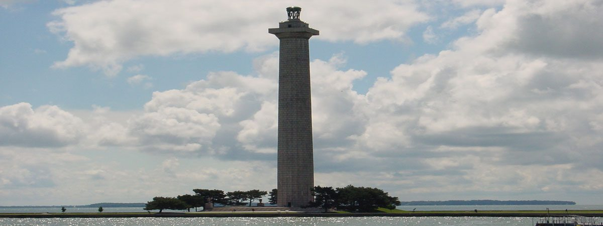 Perry's Monument - A picture of Perry's Monument on the island of Put in Bay, Ohio.