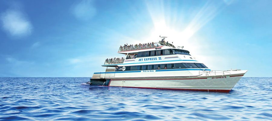 Jet express ferry boat put in bay kellys island cedar point a picture of jet express ferry boat sciox Images